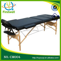 New design portable wooden folding table mate