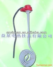 Industrial teflon immersion heater coil