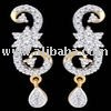Fashion diamonds earrings