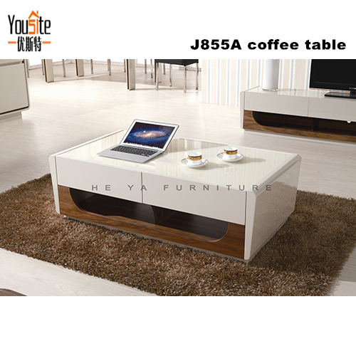 2016 latest living room sofa design square center table for Latest center table design