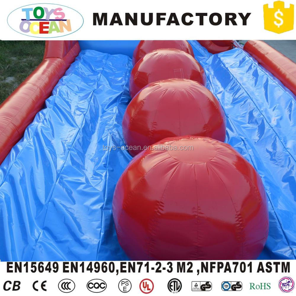 inflatable wipeout ball jumping games inflatable Big Baller game