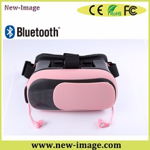 Private model 3D games optics glasses lens adjust 3.5 to 6 inch vr box for mobile phone