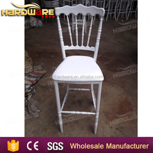 high quality stacking high iron chiavari bar chair
