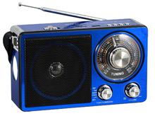 AM/FM/SW 6V USB RADIO WITH LED LIGHT RECHARGEABLE PX-302LED
