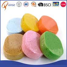 Customized hot sale car automobile huge size commercial cleaning foam sponge , magic mesh car wash sponge with handle