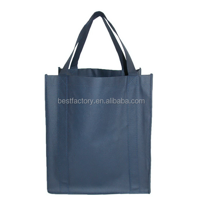 color printing metallic non woven bag, aluminum shopping bag