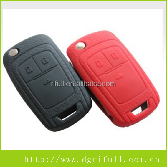 High Quality Coloful Silicone Material Car Key Set
