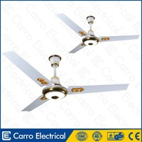 12V DC 56inch ceiling fans orient ceiling fan with led light and remote control