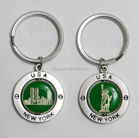 Alibaba new items good quality custom floating metal key chain