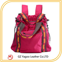 Youth fashion bag leisure backpack travel bag for women