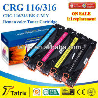 C116/316/716 K/C/M/Y remanufactured Toner Cartridge for HP Color LaserJet CP1215/CP1515/CP1518/CM1300MFP