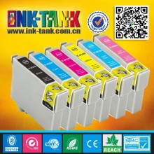 T1221 / T1222 / T1223 / T1224 / T1225 / T1226 compatible for epson printer t60 / 1390 ink cartridge