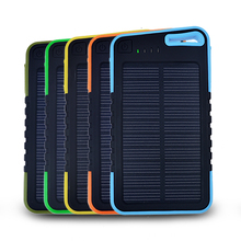 2016 5000mAh Solar Charger Portable Power Power for Mobile