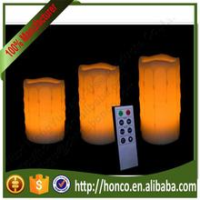 Brand new flameless candle with high quality FCR-8