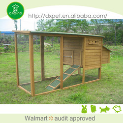 DXH011 eco-friendly professional made large size chicken coop diy