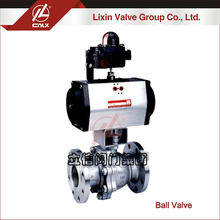 Factory wholesale 2PC CF8 ansi floating ball valve dn150