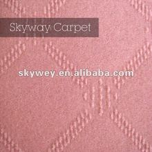 2012 new style hot pink carpet china manufacturer