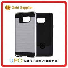 [UPO] Wholesales 2 in 1 TPU PC Combo Brush Armor Shockproof Phone Case for Samsung Galaxy Note 5