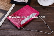 FL287 new arrival crystal leather case for samsung GALAXY Tab 2 P5100
