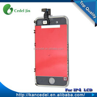 Mobile phone battery spare parts lcd touch screen digitize for iphone 4 4S