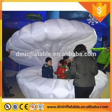 2016 New Design Inflatable Light Shell, White Conch Shells For Sale For Stage Decoration