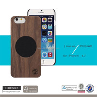 Unique Design Real Wood Phone Case for Iphone 6 6S, OEM Eco-friendly Wood Bamboo Ultra Slim Bumper Cover for iPhone Case Bag