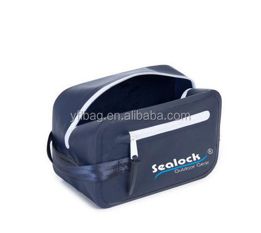 New fashion waterproof beauty bag tarpaulin cosmetic bags