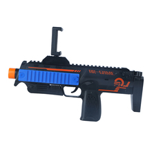 2017 popular toys AR game gun controller,bluetooth VR gun plastic for mobile phone with game app