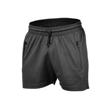 wholesale Polyester men's sports gym shorts custom mesh workout shorts
