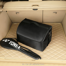 Factory custom Oxford Cloth Car Collapsible Cargo Trunk Organizer Storage Bag