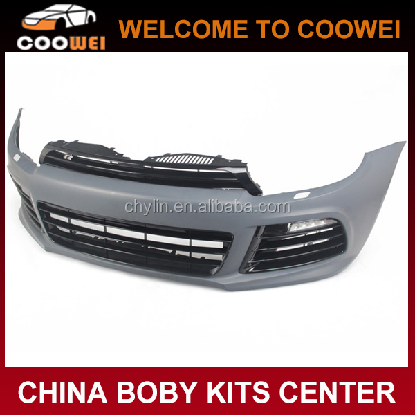 2012 New R Style Bodykit-Front Bumper For VW Scirocco