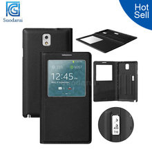 Leather case With Sleep wake function Cover for Samsung Galaxy Note 3