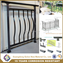 Modern Simple Beautiful Decorative wrought iron balusters ,Indoor Balcony Railing