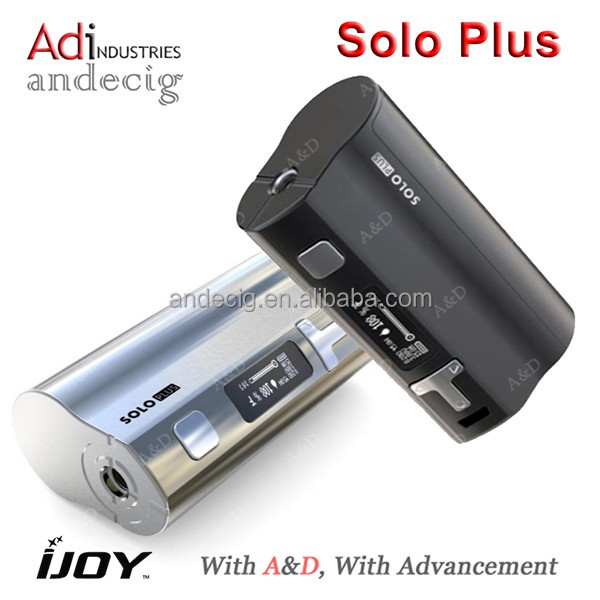 A&D INDUSTRIES is the authorized reseller of ijoy solo plus 26650 85w box mod