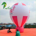 Colorful Giant Inflatable Hot Air Balloon , Inflatabel Ground Balloon For Events