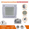 100w 140w 180w gas station led canopy ip65 light mean well driver