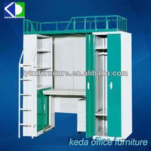 Modern China Manufacture Heavy Duty Steel Metal Bunk Bed