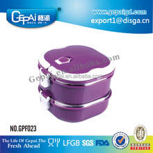 stackable 304 or 201 stainless steel hot lunch box