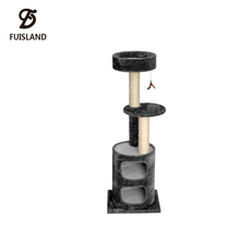 Stable Upgraded Best Cat Tree Tower Condo House Furniture For Kitten Jumping Sleeping