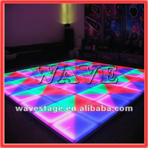 WLK-1-1 640 pcs RGB leds portable dance floors for sale