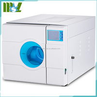 Portable steam sterilizers with LCD screen displaying time,temperature,process alert and instrument conditions MSLTA01