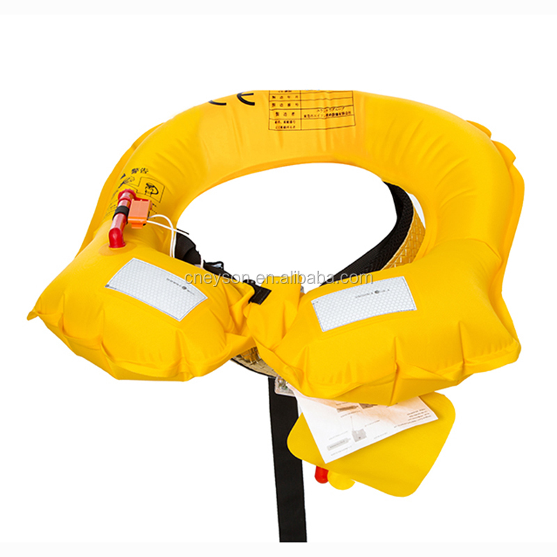 Newly desighed Leather waist life jacket swim suit
