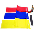 Yoga Ballet Stretch Eco-friendly Customized Latex Resistance Exercise Band Set