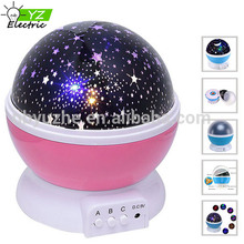 Night Light Moon Star Projector 360 Degree Rotation with USB Cable