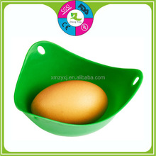 FDA Silicone egg boiled poaching cups, egg cooker silicone egg holder