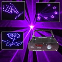 200MW violet animation stage laser light, laser disco lighting