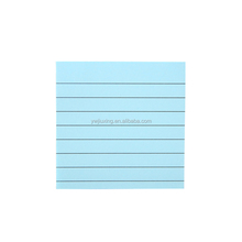 "3x3"" Cnady Color Lined Sticky Note Pad N Times Stickers"