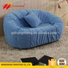 blue cheap single one side sofa chair
