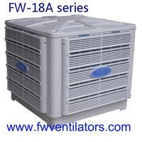 big size duct water evaporative cooler fan