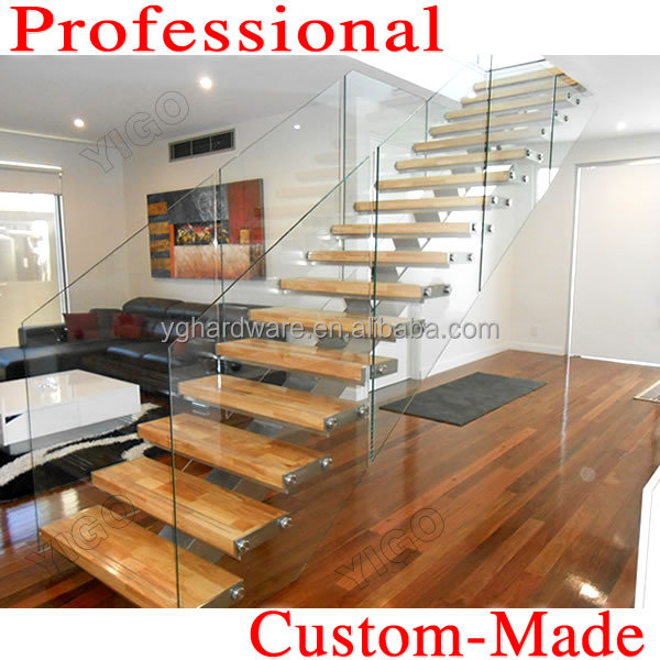 Wooden Steel Straight Stairs 9001-3